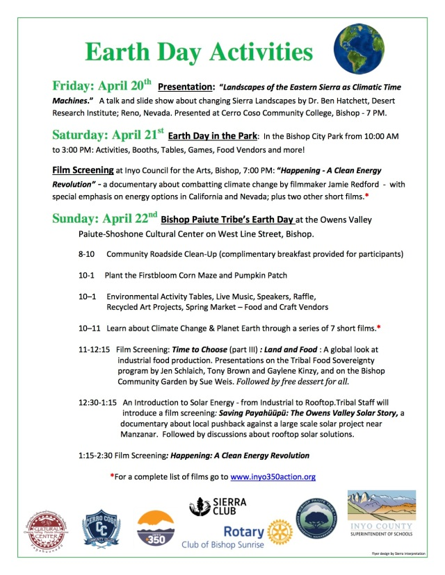 Earth Day Events Flyer jpeg